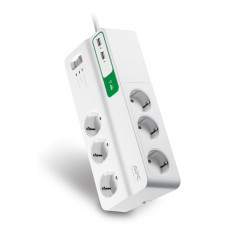 Фильтр APC Essential SurgeArrest 6 outlets + 2 USB (5V, 2.4A) (арт.:PM6U-RS)