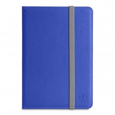 Чехол iPad mini 3 BELKIN Classic Strap Cover Blue (арт.:F7N032vfC01)