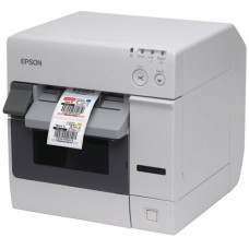 Принтер спец. inkjet Epson TM-C3400 Ethernet Incl. PC (White) (арт.:C31CA26032)