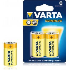 Батарейка VARTA SUPERLIFE C BLI 2 ZINC-CARBON