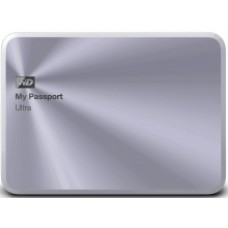 НЖМД WD 2.5 USB 3.0 1TB My Passport Ultra Metal Edition Silver(арт.:WDBTYH0010BSL-EESN)
