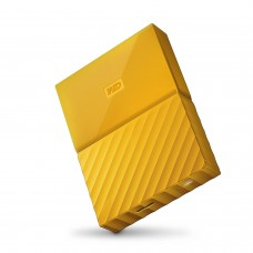 НЖМД WD 2.5 USB 3.0 1TB My Passport Yellow(арт.:WDBYNN0010BYL-WESN)